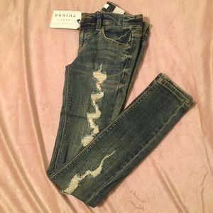 Eunina low rise skinny jeans